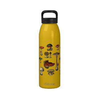 Vintage Mushroom Guide Liberty Bottle Reusable Water Bottle