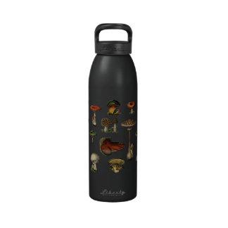 Vintage Mushroom Guide Liberty Bottle Water Bottle
