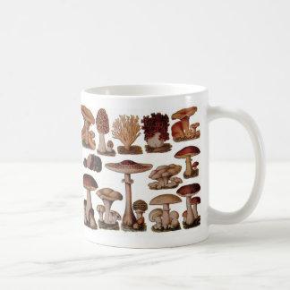 Vintage Mushroom Classic White Coffee Mug