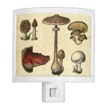 Vintage Mushroom Nightlight Nite Lights
