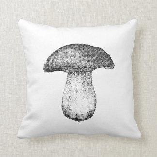 Vintage Mushroom Pillow