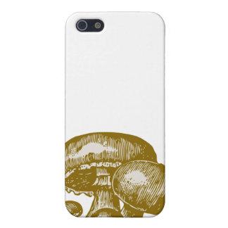 Vintage mushroom print foodie shroom sketch case iPhone 5 covers
