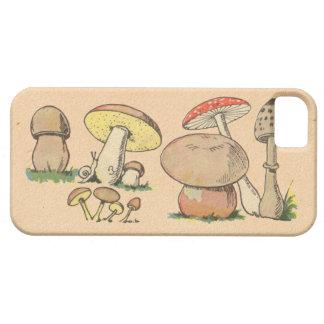 Vintage Mushroom Print iPhone SE/5/5s Case
