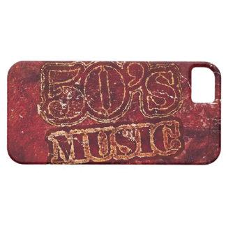Vintage music 50's graphic design iPhone SE/5/5s case