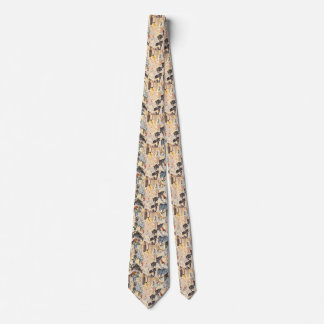 Vintage Music, Art Deco Jazz, Rhapsody in Blue Neck Tie