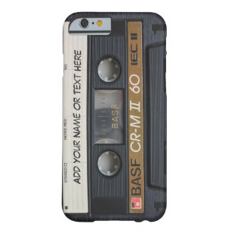 Vintage Music Cassette Tape Look Barely There iPhone 6 Case