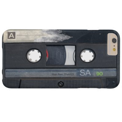 Vintage Music Cassette Tape Look Barely There iPhone 6 Plus Case