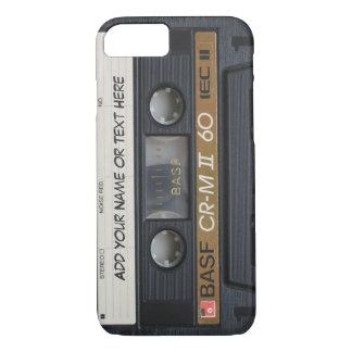 Vintage Music Cassette Tape Look iPhone 7 Case