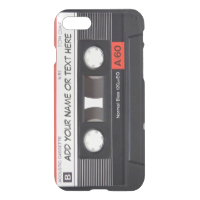 Vintage Music Cassette Tape Look iPhone 7 Case