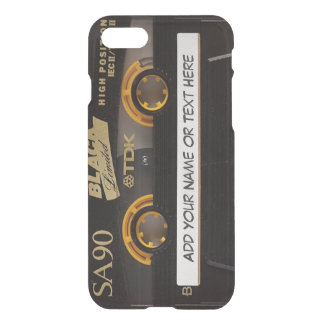 Vintage Music Cassette Tape Look iPhone 8/7 Case