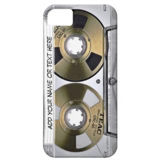 Vintage Music Cassette Tape Look iPhone SE/5/5s Case