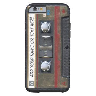 Vintage Music Cassette Tape Look Tough iPhone 6 Case