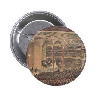Vintage Music, Jenny Lind, Swedish Opera Singer 2 Inch Round Button