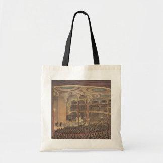 Vintage Music, Jenny Lind, Swedish Opera Singer Budget Tote Bag