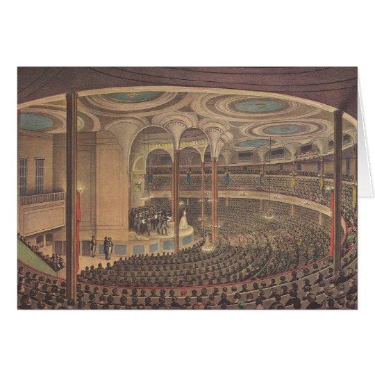 Vintage Music, Jenny Lind, Swedish Opera Singer Card