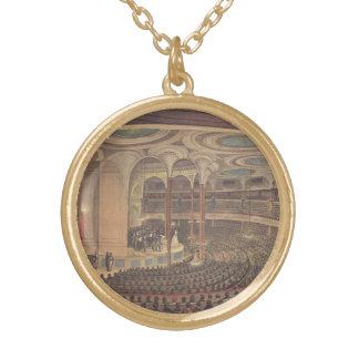 Vintage Music, Jenny Lind, Swedish Opera Singer Gold Plated Necklace