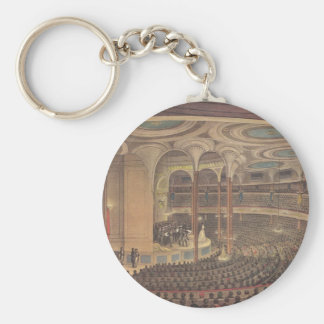 Vintage Music, Jenny Lind, Swedish Opera Singer Keychain
