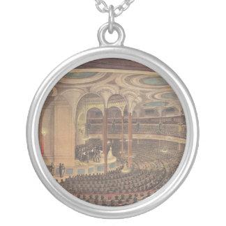 Vintage Music, Jenny Lind, Swedish Opera Singer Round Pendant Necklace