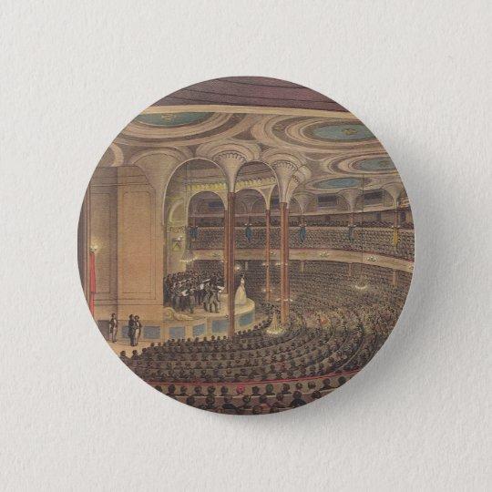 Vintage Music, Jenny Lind, Swedish Opera Singer Pinback Button