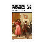 Vintage - Music Lessons Stamp