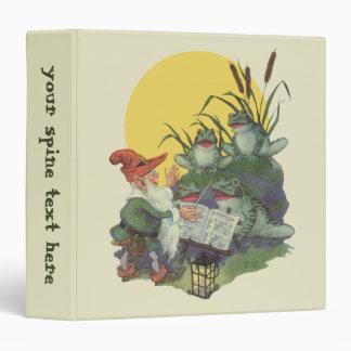 Vintage Music Magazine Cover Art, Etude Frog Choir Vinyl Binders