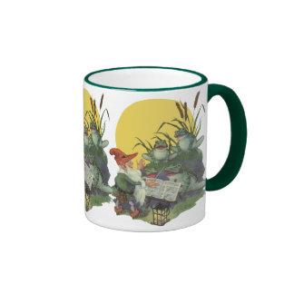 Vintage Music Magazine Cover Art, Etude Frog Choir Coffee Mug