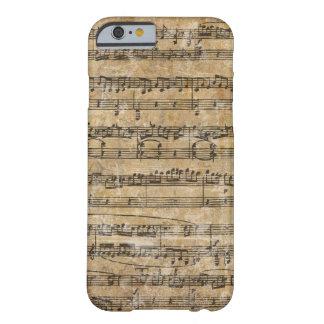 Vintage Music Score iPhone 6 Case