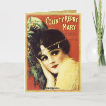 Vintage Music Sheet - Country Kerry Card