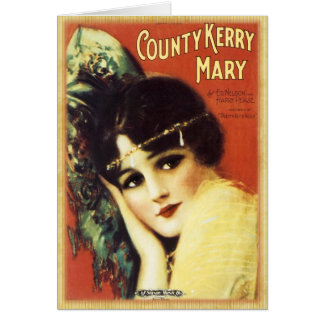 Vintage Music Sheet - Country Kerry Greeting Cards