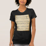 Vintage Music Sheet T-Shirt