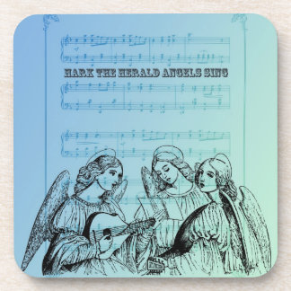 Vintage Musical Angels Coaster