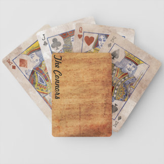 Vintage Musical Composer Playing Cards