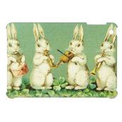 Vintage Musical Easter Bunnies Case For The iPad Mini