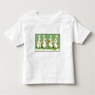 Vintage Musical Easter Bunnies Toddler T-shirt