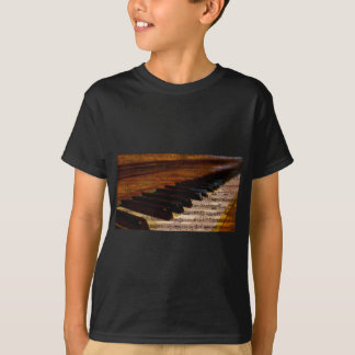 Vintage Musical Notes and Piano T-Shirt