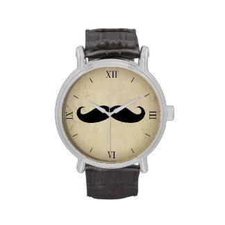 Vintage Mustache Men s Watch