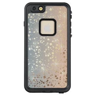 Vintage Muted 1920 Glam Gold Star Foil Sparkle LifeProof FRĒ iPhone 6/6s Plus Case