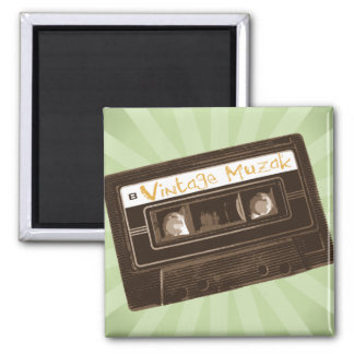Vintage Muzak Mix Tape Magnet
