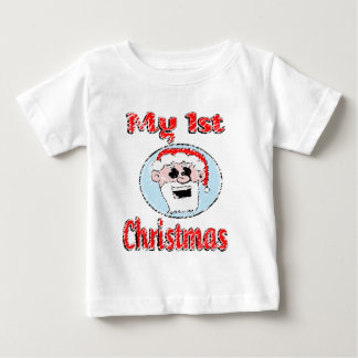 Vintage My 1st Christmas Baby Clothes Baby T-Shirt