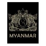 Vintage Myanmar Postal