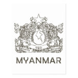 Vintage Myanmar Postales
