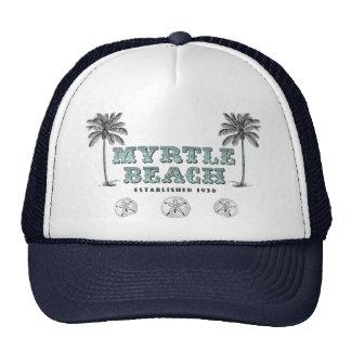 Vintage Myrtle Beach Carolina del Sur Est 1938 Gorras
