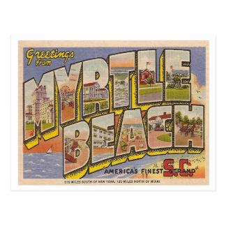 Vintage Myrtle Beach Postcard