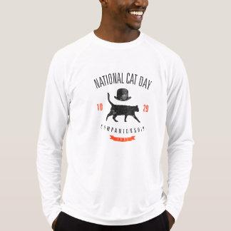 Vintage nacional del día 10.29.2005 del gato camisas