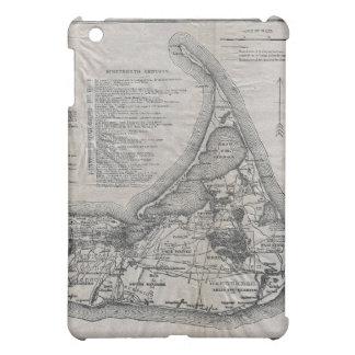 Vintage Nantucket Map iPad Mini Cover