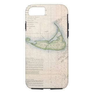 Vintage Nantucket map iPhone 7 case