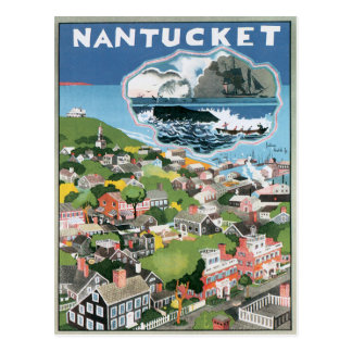 Vintage Nantucket Massachusetts Postal