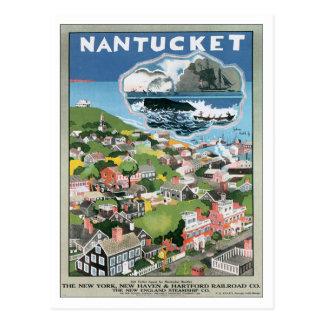 Vintage Nantucket Massachusetts Postcard