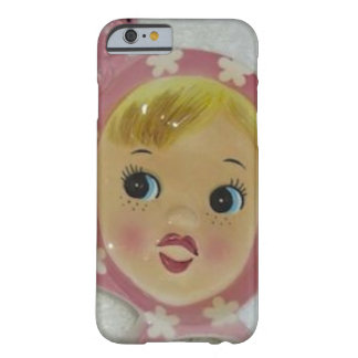 Vintage Napco Miss Cutie Pie Pink Retro Phone Case Barely There iPhone 6 Case