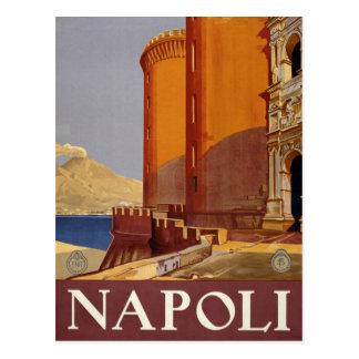 Vintage Napoli Italia Naples Italy Travel Postcard